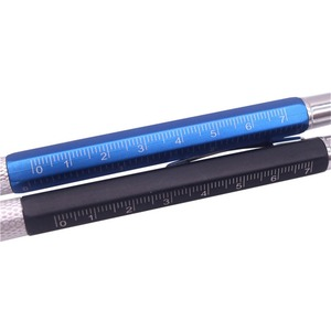 Image 5 - 50 個多機能ボールペンレベル定規ドライバー文具ペン良い商品は安くはない青
