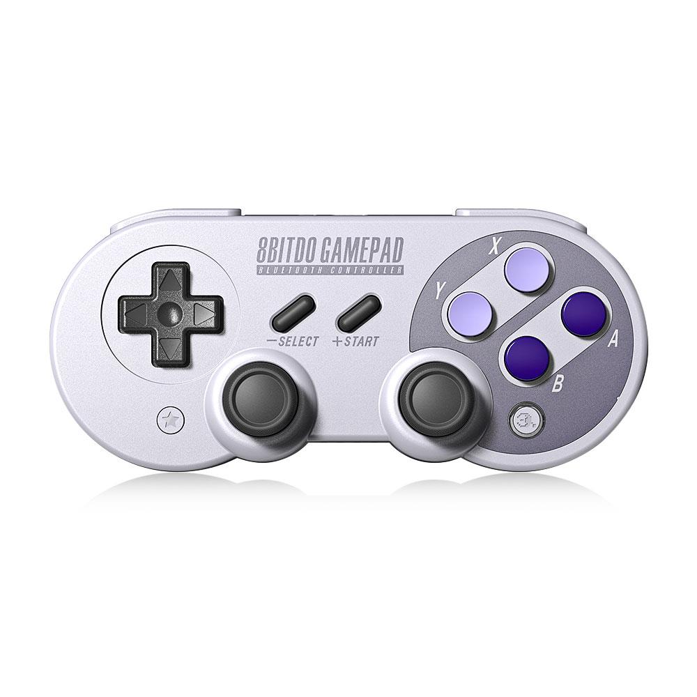 Plus récent 8bitdo SN30 Pro Contrôleur de Jeu Sans Fil Bluetooth Manette de Jeu pour Nintendo Switch avec Joystick avec Français Allemand Manuel