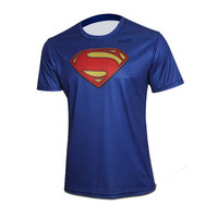 Yeni Süper kahraman superman bisiklet jersey erkekler yaz kısa bisiklet/bisiklet aşınma kollu nefes çabuk kuruyan T-shirt XXS-6XL