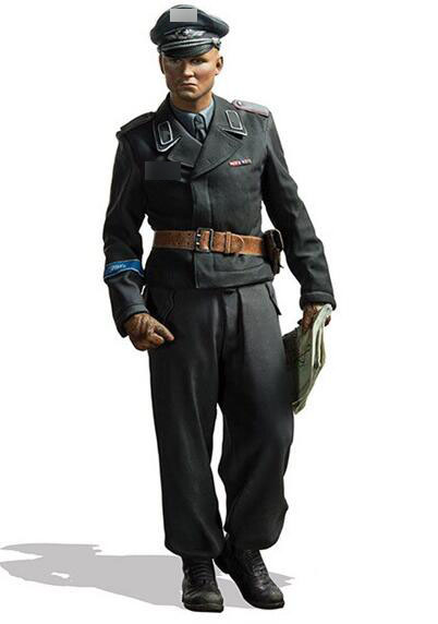 1/16 Resin Kits WWII German Officer 1pc Model Figures1/16 Resin Kits WWII German Officer 1pc Model Figures