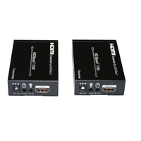 Ultra high resolution HDBT HDMI extender 70m support 3d 4KX2K IR