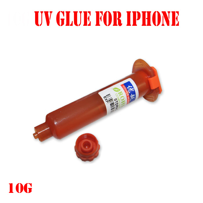 Free shipping 10ml uv glue loca liquid optical clear adhesive for repair cellphone glass lens