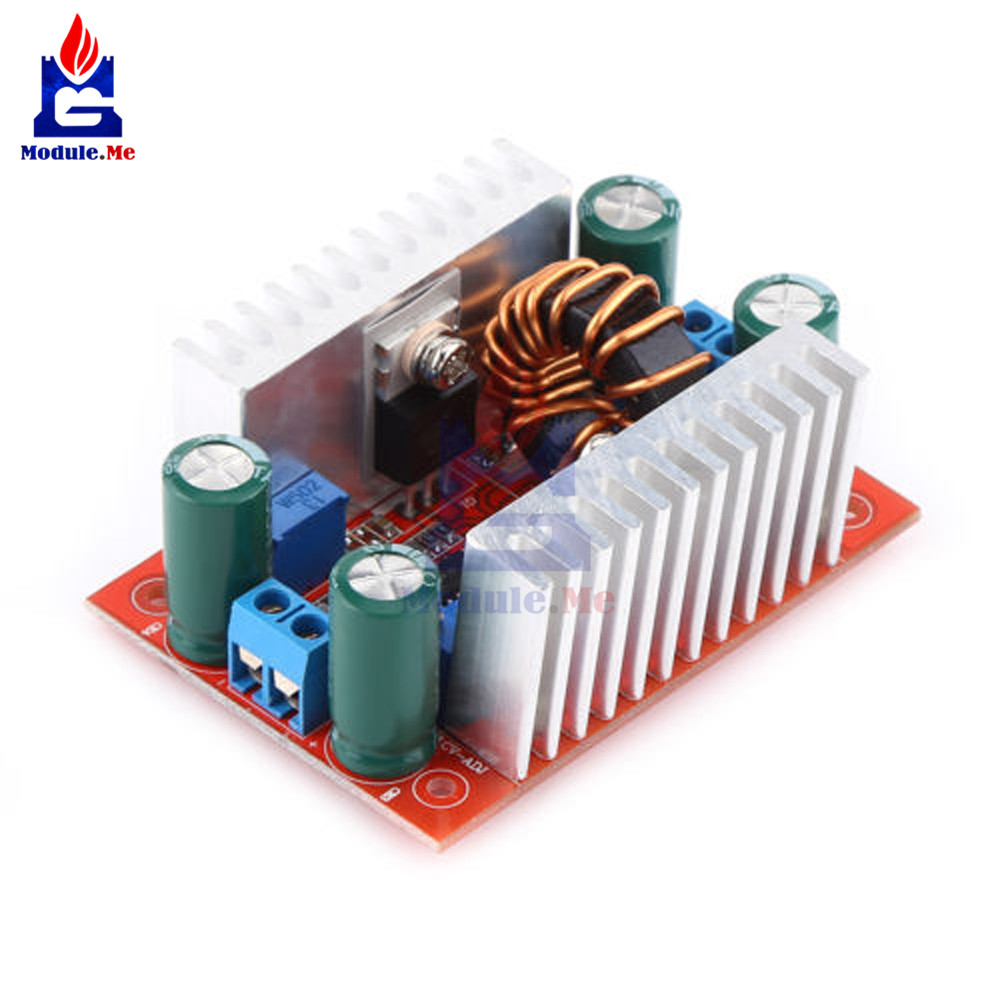 DC 400W 15A Step-up Boost Converter Constant Current Power Supply LED DriverDC 400W 15A Step-up Boost Converter Constant Current Power Supply LED Driver