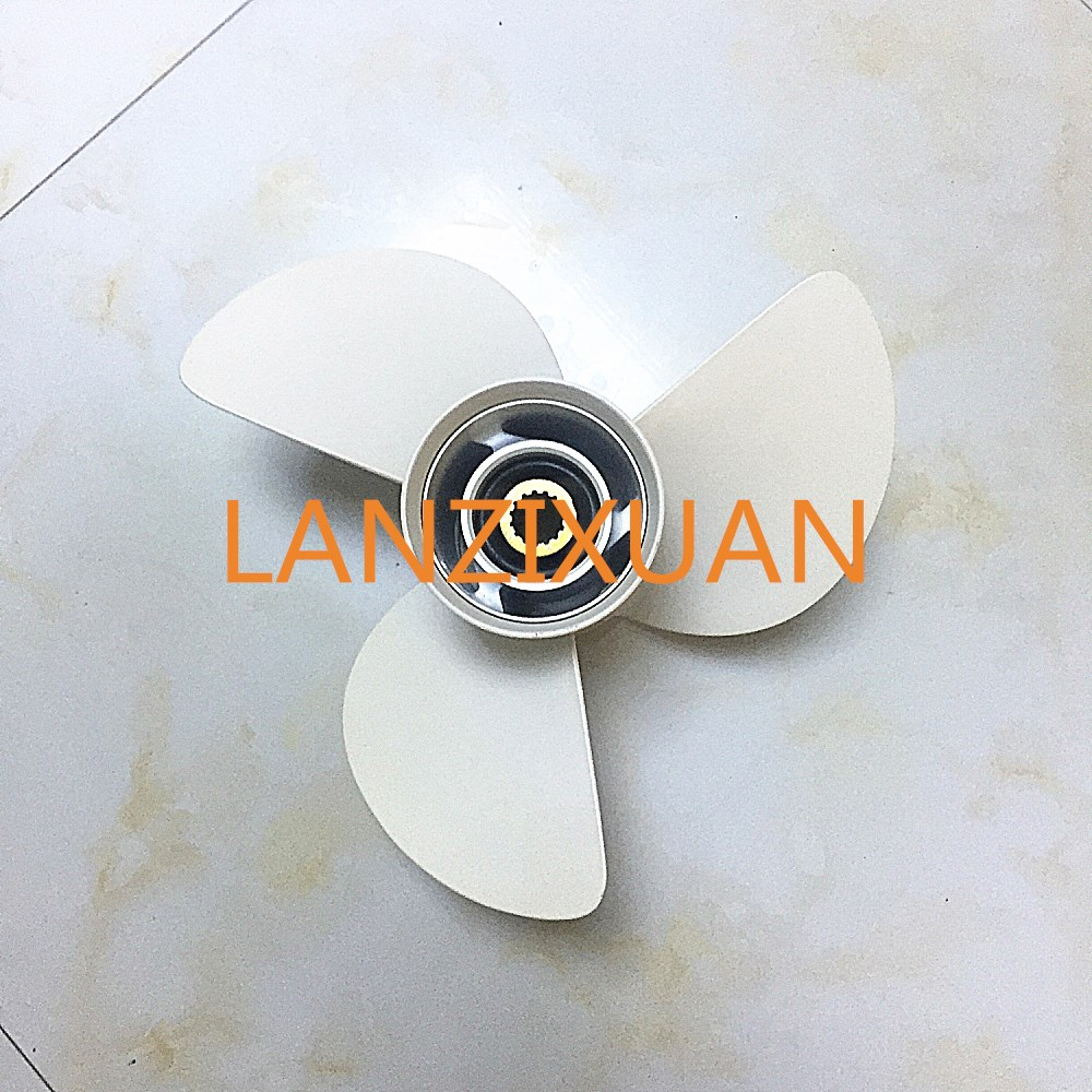 Aluminum Propeller 6E5-45947-00-EL-00 13 1/2X15-K for fitting Yamaha 85-115HP Outboard Engine Motor 13-1/2x15 - K