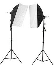 Adearstudio Photographic equipment single head holder softbox photography light studio set protable camera set CD50