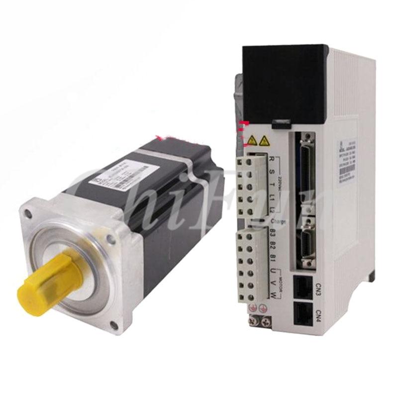JMC 750w 80mm 2 39Nm 3000rpm High voltage AC servo Motor Drive kit AC220V 80JASM507230K 20B