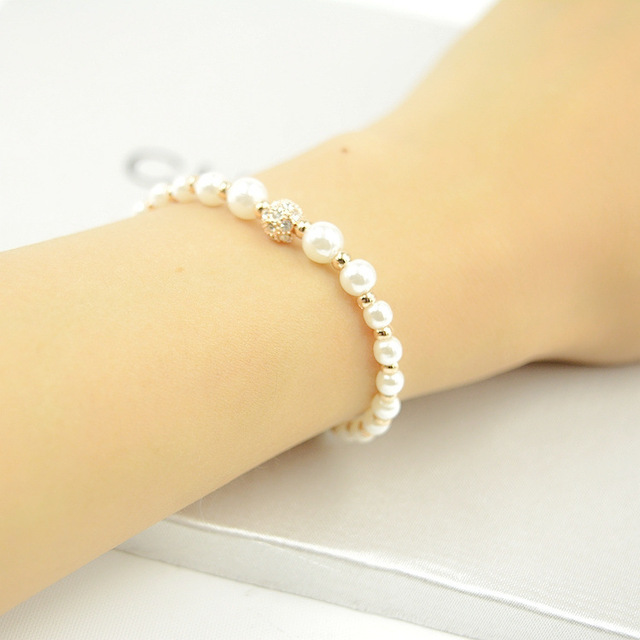 South korea imported jewelry beads bracelet hand chain bracelet south korea imported jewelry beads bracelet hand chain bracelet pearl pendant drop small fresh burst models aloadofball Image collections