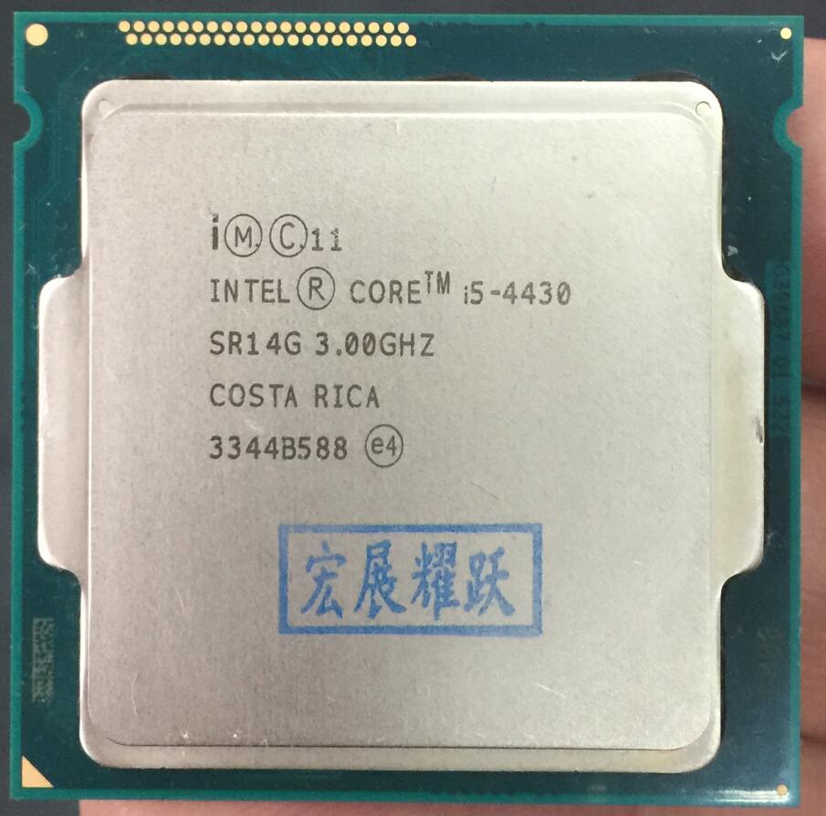 Computer PC Intel Core i5-4430 i5 4430 Processore Quad-Core LGA1150 Desktop CPU 100% di lavoro correttamente Desktop ProcessoreComputer PC Intel Core i5-4430 i5 4430 Processore Quad-Core LGA1150 Desktop CPU 100% di lavoro correttamente Desktop Processore