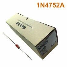 MCIGICM 2500 pcs Zener Diode 33V 1W Through Hole DO-41 1N4752 1N4752A