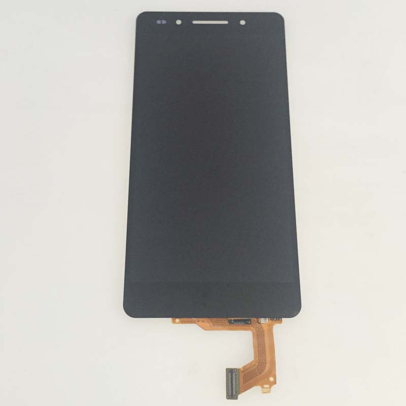 ФОТО Black Touch Digitizer LCD Display Screen Glass Assembly Replacement For Huawei Honor 7 Replacement