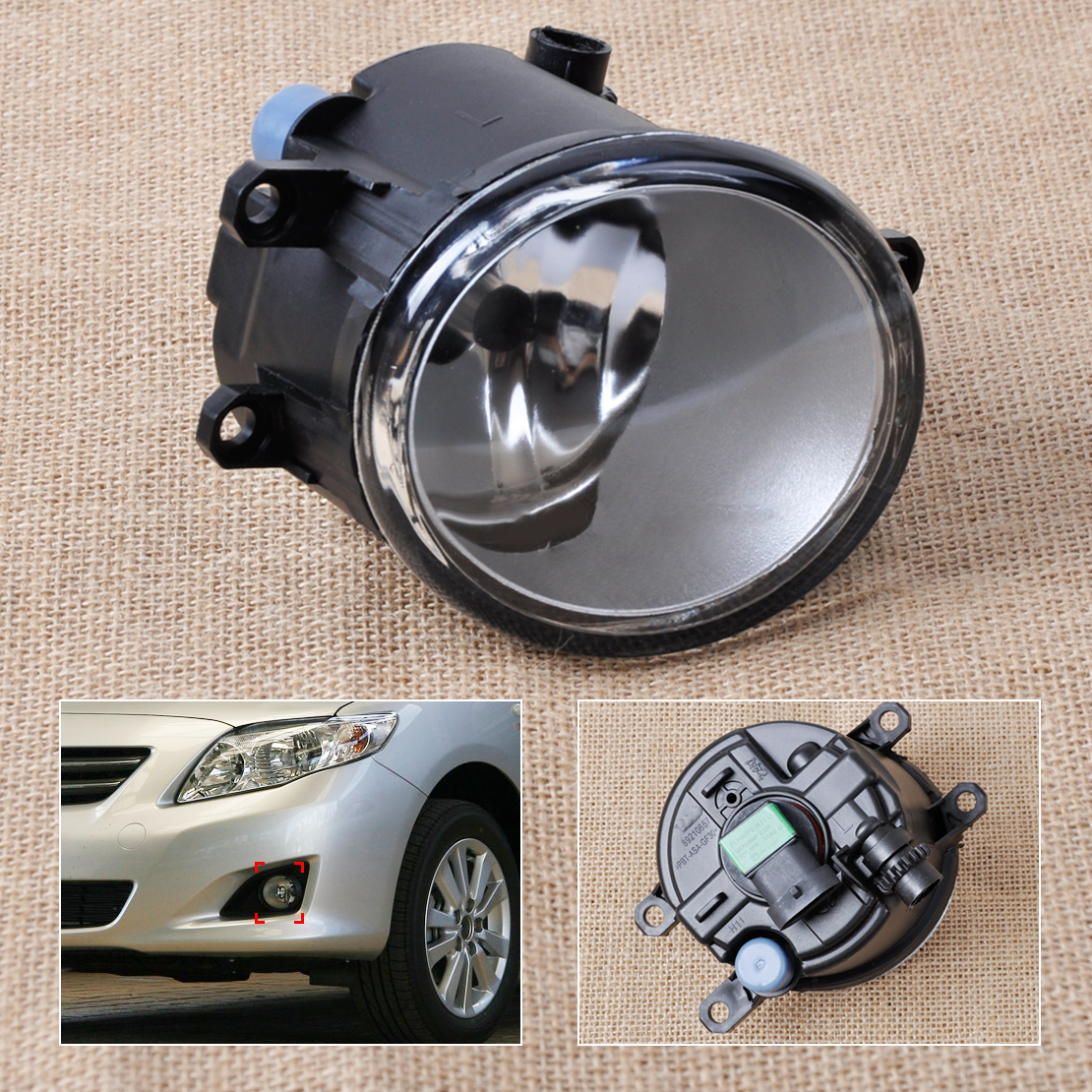 beler Front Left Side Fog light Lamp 81210-06050 35502-57L01 For Toyota Camry Corolla Yaris Prius Lexus GS350 GS450h HS250h special car trunk mats for toyota all models corolla camry rav4 auris prius yalis avensis 2014 accessories car styling auto