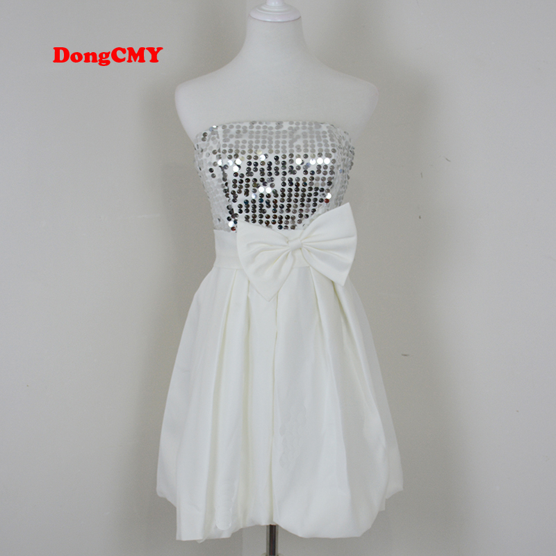 Dongcmy New Fashion Sexy Short Design Tube Top Party Short -2735