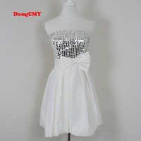 Dongcmy new fashion sexy short design tube top party short design girl s vestido de formatura.jpg 200x200