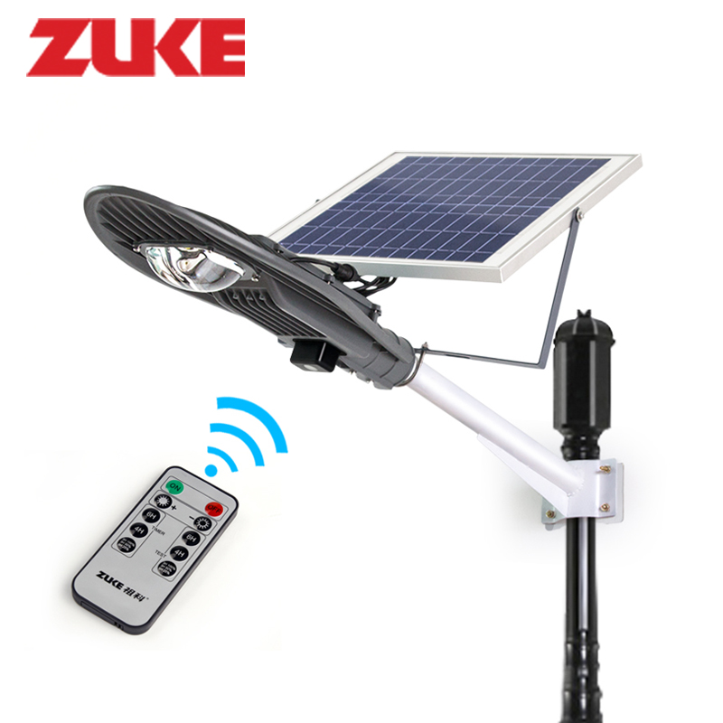 16w Remote Control Solar Powered Panel Led Street Light Outdoor