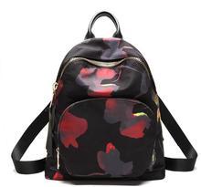 Amasie Новое поступление рюкзак черный винтажные женские мешок двойной должны чемоданчик повседневные нейлоновая сумка кожаная сумка 3 размера EGT0346