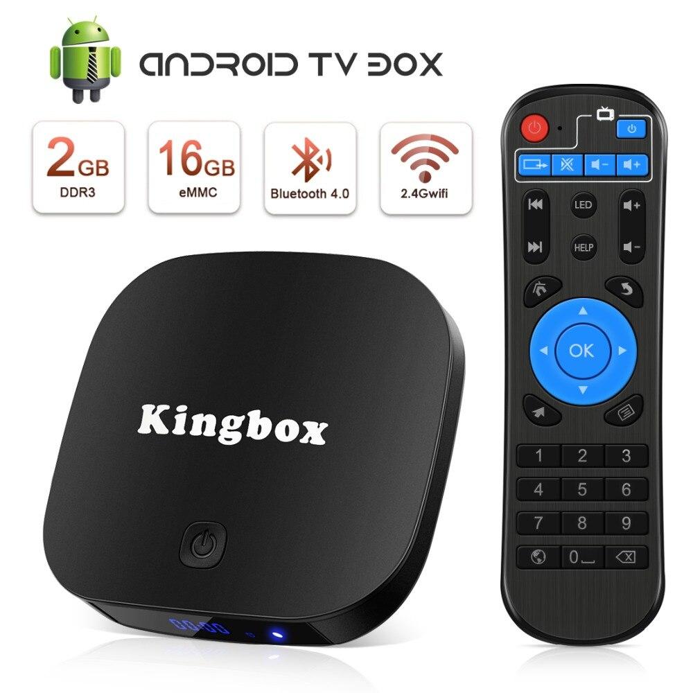 Leelbox K2 PRO tv box android 8.1 décodeur 2G16G BT Smart tv RK3229 Quad Core 2.4GHz WiFi Support 4K lecteur multimédia HDMI 2.0