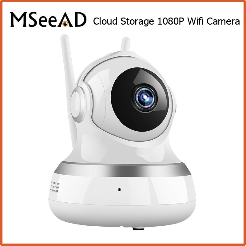 MSeeAD 1080P HD IP Camera Wireless Wifi Wi-fi Video Surveillance Night Security Camera Network Indoor Baby Monitor Cloud Storage 720p hd wifi camera p2p wireless baby monitor security camera cloud storage night vision camera compatible with sensor detector