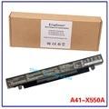 14.4 В 37WH корея сотовый оригинальный новый аккумулятор для ноутбука ASUS A41-X550 A41-X550A X550 X550C X550B X550V X550D X450C X452 4 клеток