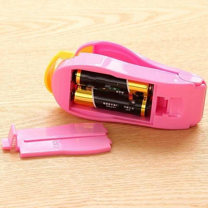 Portable Bag Clips Handheld Mini Electric Heat Sealing Machine Impulse Sealer Seal Packing Plastic Bag Kitchen Tool Home Use