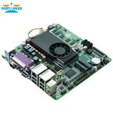 2* RJ-45 Lan port Cheapest celeron industrial pc motherboard 1037u embedded computer board with factory best prices