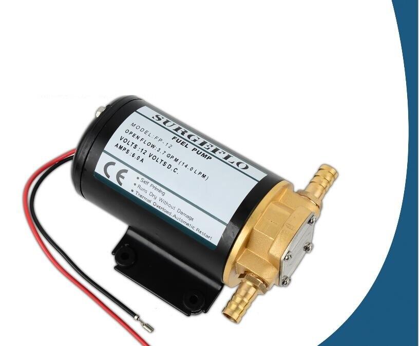 Sanitär Ce Ul Rosh 24 V Dc Getriebeölpumpe/3.7gpm Kleine Marine Getriebeölpumpe Kostenloser Versand