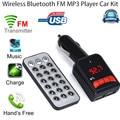 Mejor precio Wireless LCD Bluetooth Car Kit Reproductor de MP3 FM Del Modulador Del Transmisor Del USB SD Remoto