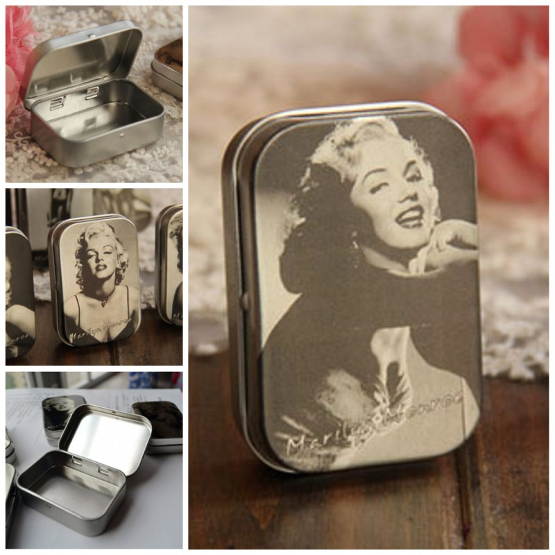 2pcslot 583816cm Classic Primary Color Marilyn Monroe Gift