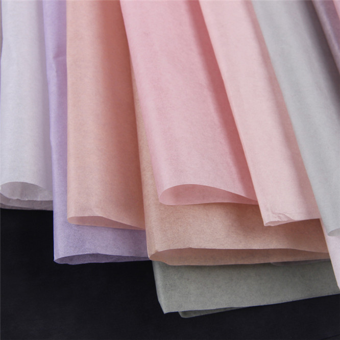40pcs set High quality 50 70cm Tissue Paper Flower Clothing Shirt Shoes Gift Packaging Craft Paper Roll Wine Wrapping Papers in Craft Paper from Home Garden