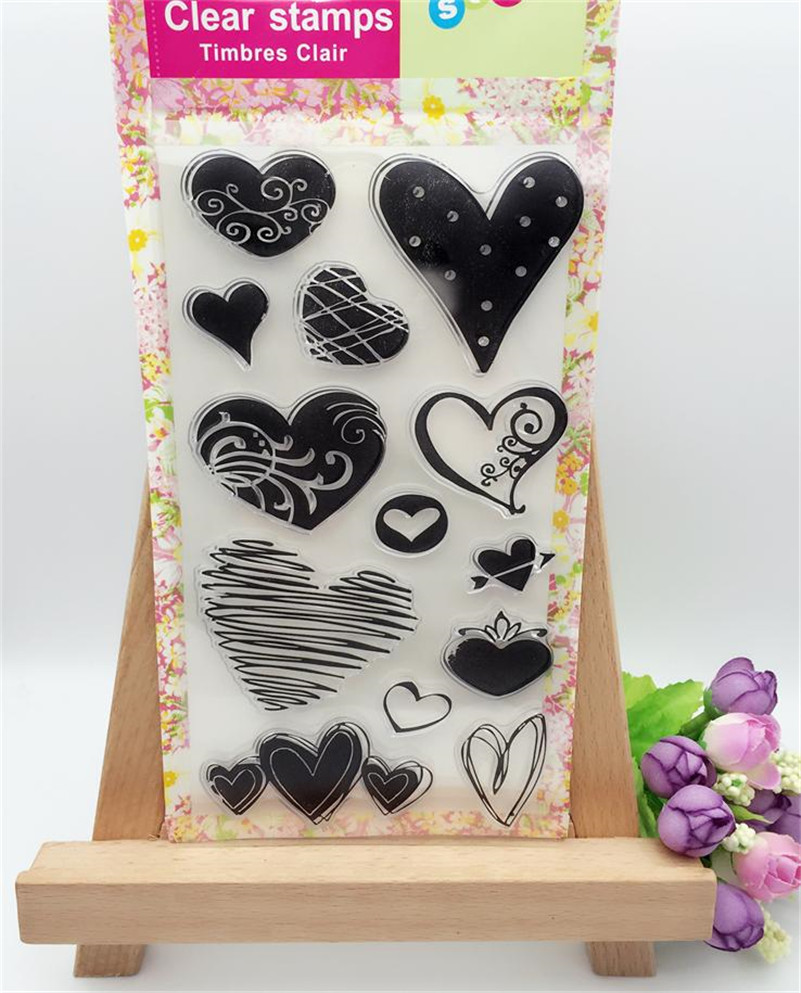 About loving heart design Transparent Clear Silicone Stamp for DIY scrapbooking photo album clear stamp  christmas gift CL-020 loving heart and angel design for diy scrapbooking photo album transparent clear silicone stamp for wedding gift cl 131