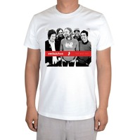 Free shipping  switchfoot  christian rock The Best Yet / Fading West / ablum white t-shirt