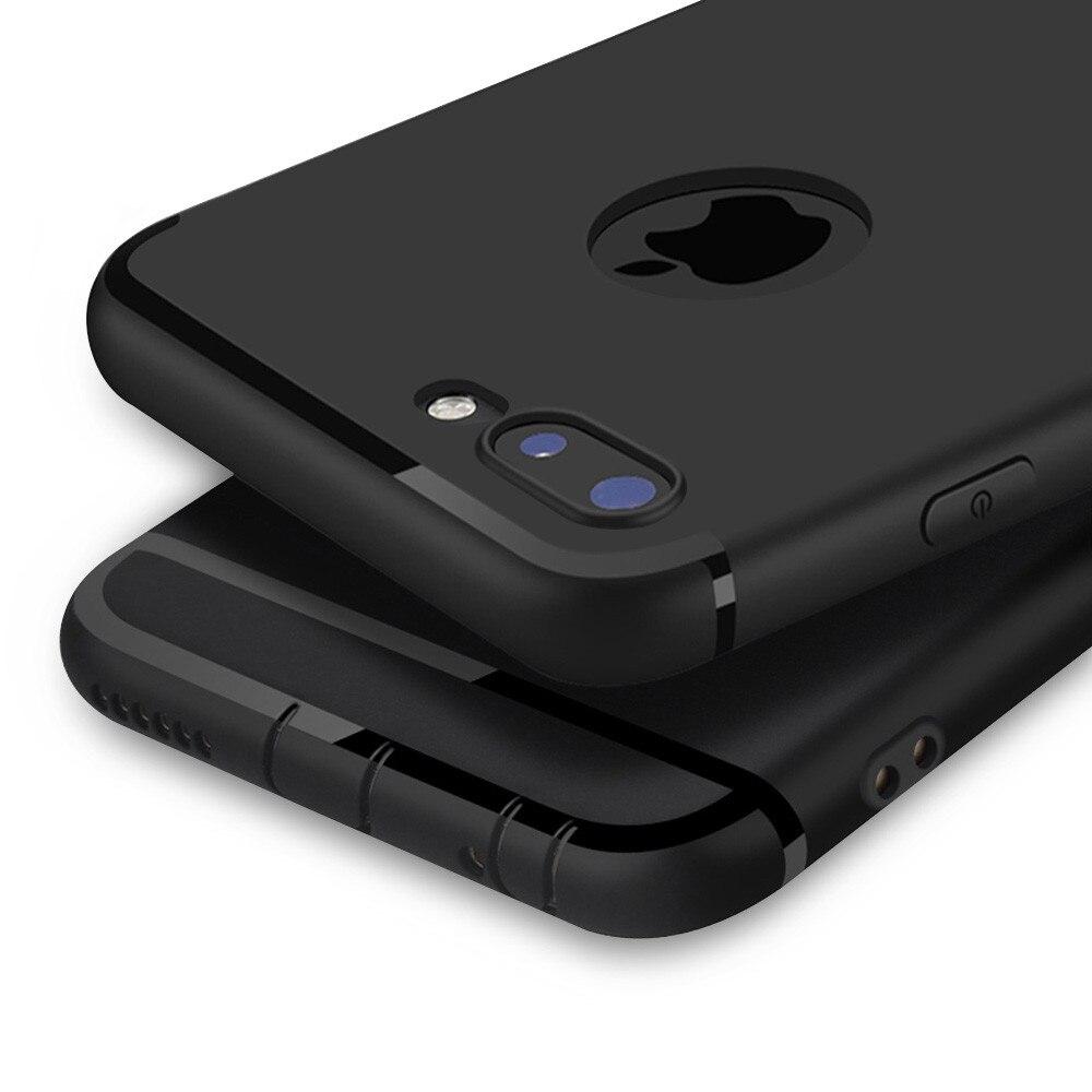 หรูหรากลับด้านซอฟท์ซิลิคอนกรณีสำหรับiPhone 6วินาทีกรณี6 6วินาทีบวก5 5วินาที6ลูกอมเต็มปกคลุมสำหร...