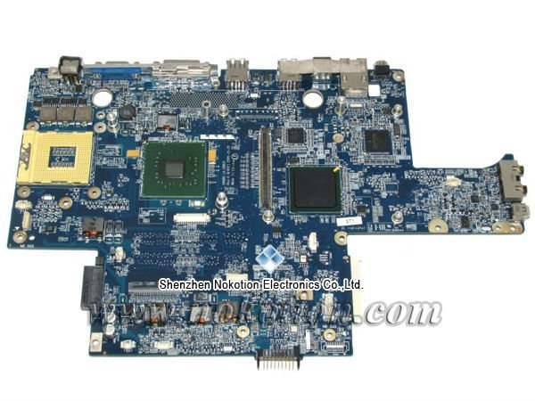 HAQ00 LA-2881P Laptop Motherboard for Dell XPS M1710 CF739 0CF739 nvidia video card DDR2 Mainboard full tested free shipping