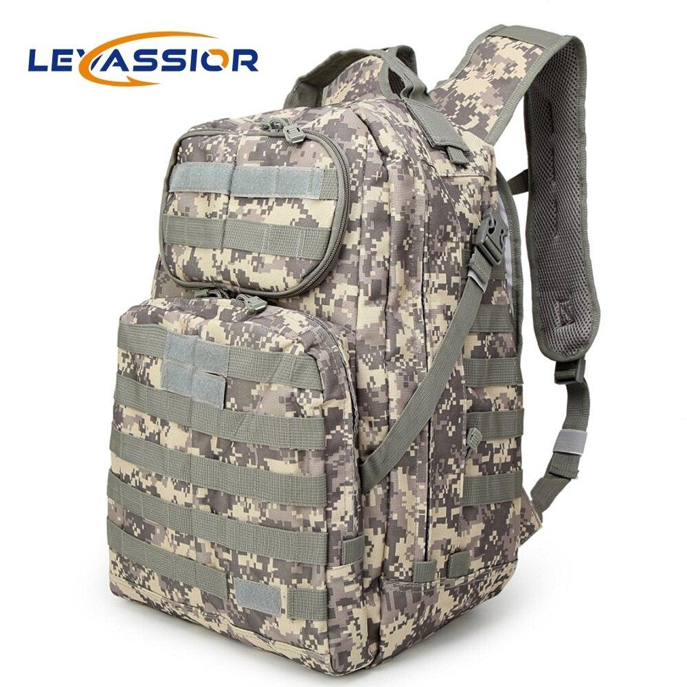2019 étanche 30L militaire tactique sac à dos Sport sac Moll Camouflage touristique pêche/randonnée/Camping armée sac à dos Mochila