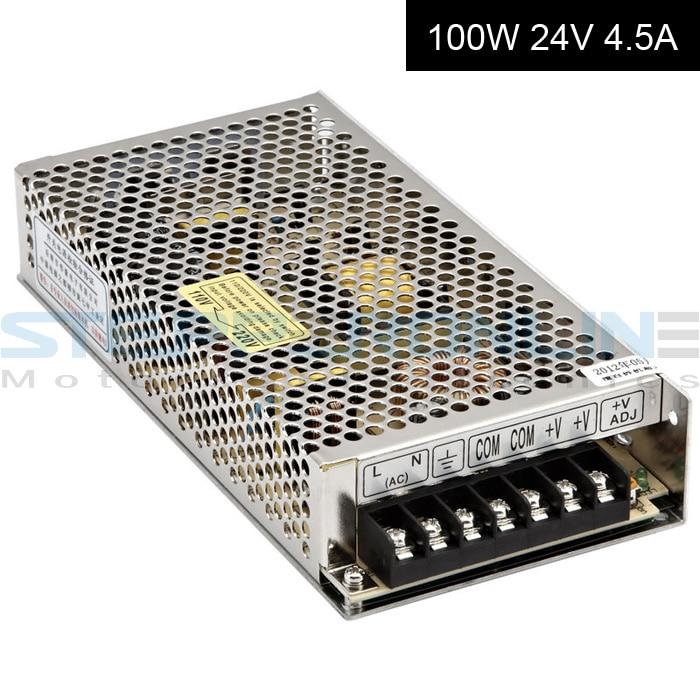 DC24V 100W 4.5A Switching Power Supply 115V/230V to Stepper Motor 3D Printer/CNC dc60v 350w 5 9a switching power supply 115v 230v to stepper motor diy cnc router