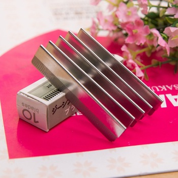 10 PCS stainless steel manufacturing Threading inserts blade eyebrow Special scraping blade eyebrow Makeup Set women