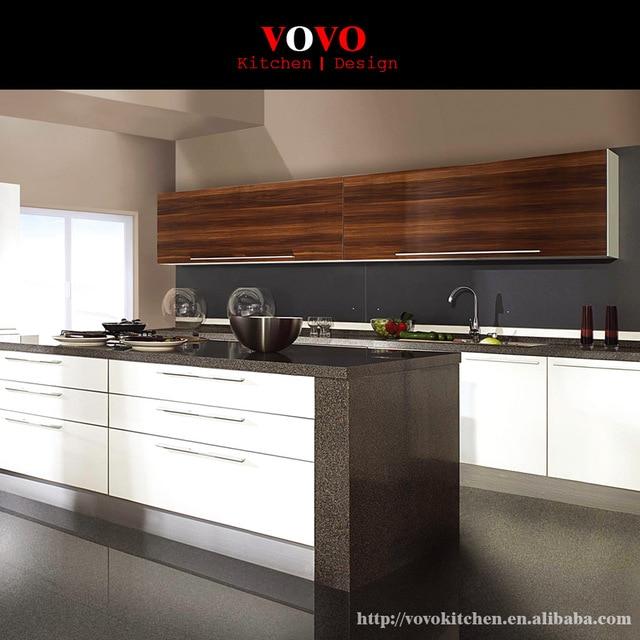 2016 nuovo disegno high gloss lacquer mobili da cucina moderni in ...