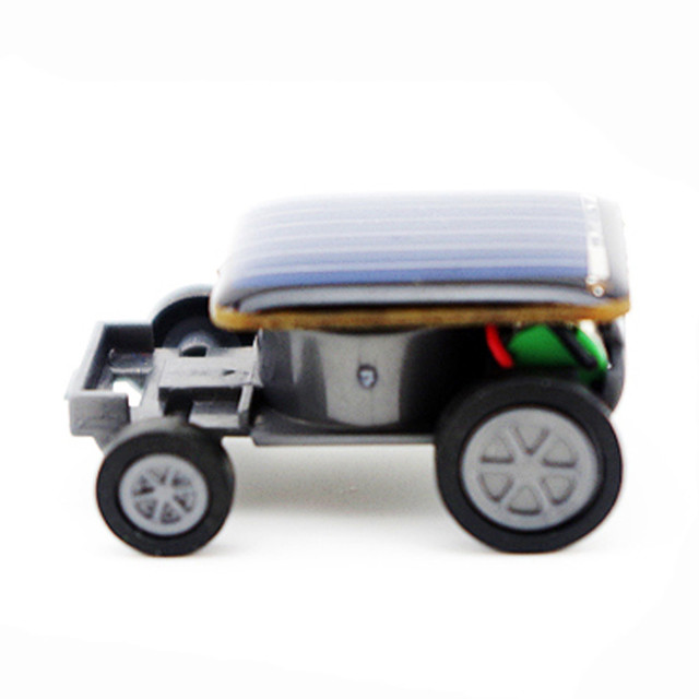 Smallest Mini Solar Power Toy Car 1