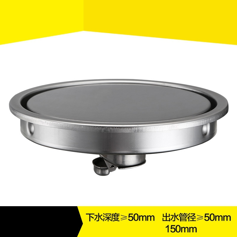Insert tile 150mm Large flow Round Invisible Floor Drain,Two sides Shower Grate Water Waste Drain ,SUS304 Stainless Steel free shipping deodorant floor waste drain oil rubbed bronze 10cmshower floor cover sink grate