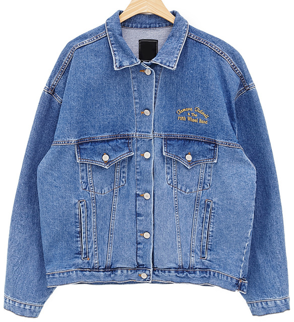 N1907 J40780 Denim Outerwear Coats Jeans Coats Loose Casual Style Denim Jackets