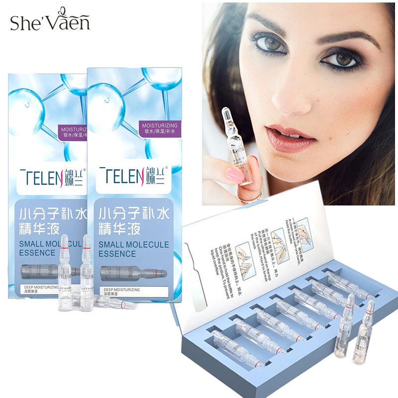 Facial Hyaluronic Acid Serum Long Lasting Hydration Smooth Skin Anti Wrinkle Face Cream Moisturizer 2ml X 7pcs