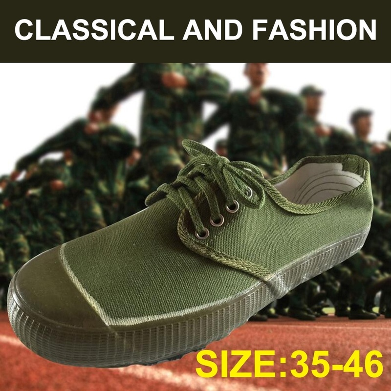 Forest Camouflage / Army Green Chinese Army Liberation Army Liberation Training Shoes