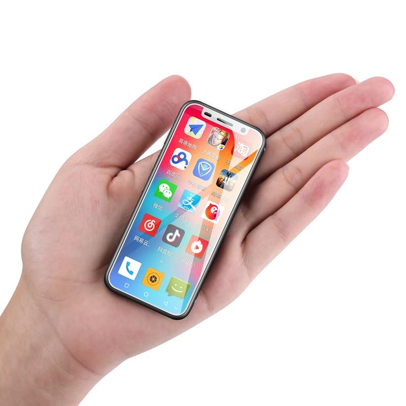 Фото. Оригинальный melrose 2019 4 г Мини android 8,1 смартфон 3,4 дюймов двухъядерный MT6739V/WA китай тел