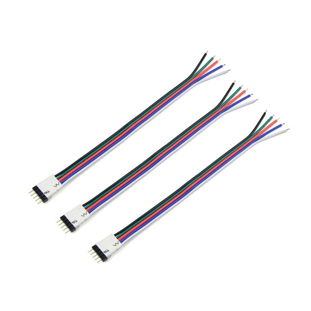 5 Pin LED Streifen anschluss Draht RGBW RGBWW LED Band Band licht ...