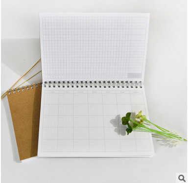 Planificateur 2017 jour mensuel Krafts carnet Journal agenda agenda 2017 Kawaii Journal papeterie fournitures scolaires 48 feuilles intérieures