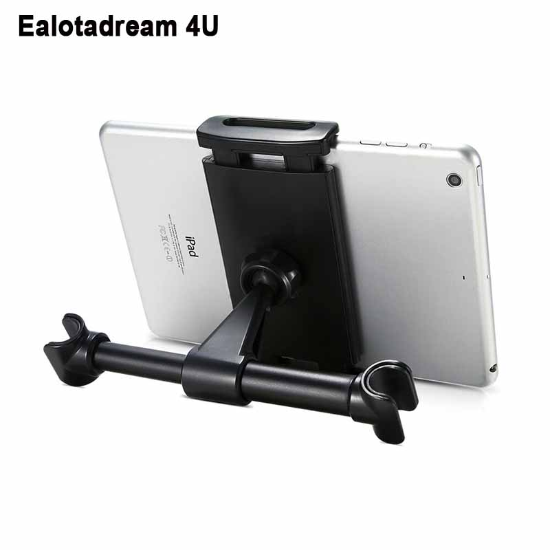 360 Rotary Universal Car Phone Holder Mount For iPhone 6 7 8 X LG G5 G6 Pop Back Seat Tablet Bracket Socket For iPad Air 2 1
