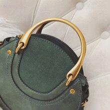 Women Totes Bag Fashion Circular Leather