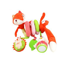 Infant Toy Baby Crib Revolves Around Bed Spiral Stroller Playing Toy Car Lathe Hanging Baby Rattles Mobile Toys Bebe 0-12 months
