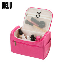 WEIJU Women Travel Makeup Bag Multifunction Cosmetic Bags 2016 New Fashion Waterproof Storage Toiletry Bag Organizer Men