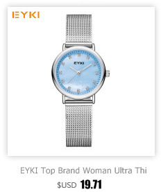 Hearty Eyki Brand Couple Weave Mech Strap Watches Simple Milanese Stainless Steel Men Women Casual Dress Watch Ultra Thin Relogio Gift Lover's Watches