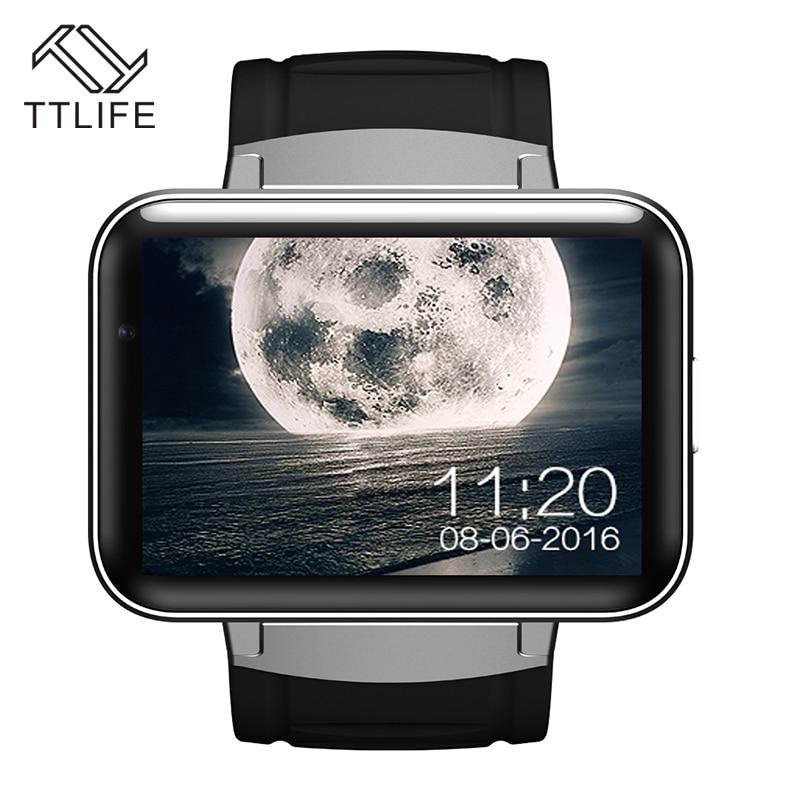 TTLIFE DM98 Relojes Inteligentes Android 4.4.2 MTK 2.2 \